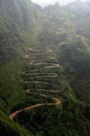 The long and winding road.