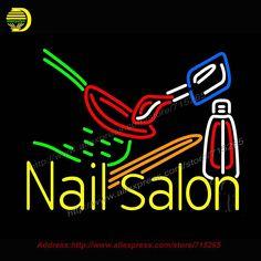 Resultado de imagen para belleza ali nail logo Logo Neon, Nail Logo, Sign Lighting, Beer Bar, Night Light, Creations, Garage, Room Decor, Neon Signs