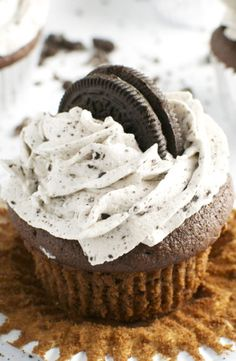 Oreo Cupcakes by Stuck on Sweet