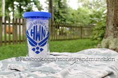 Proud Air Force Wife, I love my airman, Military Wife, Military Spouse, Air Force, USAF, Military Girlfriend, Monogram by MonsterAndMunchkin on Etsy