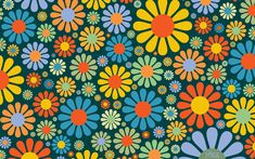 flower power, flower fabric image