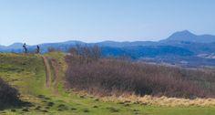 Lacs et volcans d'Auvergne à vélo