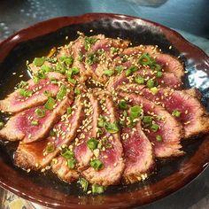 Beef Tataki #beef #tataki #beeftataki #catestreetseafood #csss #foodporn by catestreetseafood
