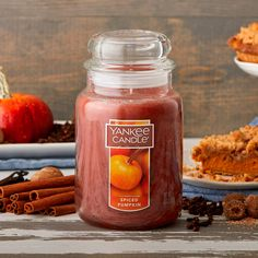 Yankee Candle Large Jar Candle Spiced Pumpkin*** Check out the image by visiting the link. (This is an affiliate link) #jarcandles