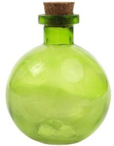 Amazon.com: 8.8 oz. Lime Green Ball Glass Bottle: Home & Kitchen