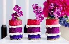 The Most Adorable Wedding Cakes With Vivid Pastels