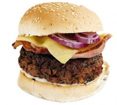 Chef Gordon Ramsay's burger recipe as seen on Live with Regis and Kelly.