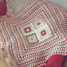Cath Kidston Inspired Blanket by SpitspotLovesShop on Etsy