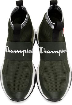 1d49306bf6e1fa CHAMPION Black Rally High-Top Sneakers.  champion  shoes ...