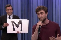 Daniel Radcliffe reveals magical talent for rapping as he performs Alphabet Aerobics on Jimmy Fallon - Celebrity News - Showbiz - London Evening Standard