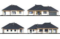 Projekt domu Wiesiołek II G2, wizualizacja 4