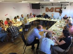 Leader's from across Rostov meet for brunch, prayer, teaching and discussion. 9.3.15