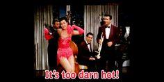 """Too Darn Hot"" dance by Ann Miller in 1953 Kiss Me Kate"