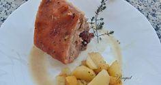 Cochinillo al horno con patatas