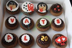 Customized Happy Birthday Cupcakes ... Special 20
