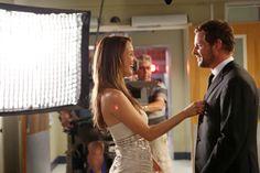 Behind the scenes of Grey's Anatomy with Jolex! Jo Wilson + Alex <3