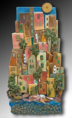 Silvia Logi - reminds me of favela houses in Brazil.