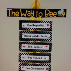 The Way To Bee ThemeHoney BeesBusy