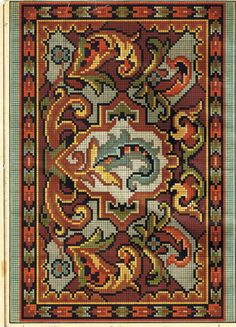 Gallery.ru / Фото #75 - Старинные узоры - Larisa-sea-gull Cross Stitch Bird, Cross Stitch Borders, Cross Stitch Designs, Cross Stitch Patterns, Graph Design, Chart Design, Hand Embroidery Art, Cross Stitch Embroidery, Bead Crochet Rope