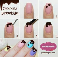 74 Cute Nail Art Designs for Easter; Pink Nail Art, Cute Nail Art, Nail Art Diy, Easy Nail Art, Cute Nails, Trendy Nails, Nagellack Design, Nagellack Trends, Nail Manicure