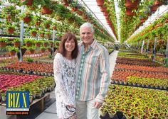 The Bloomin Gardener is a family operation, run by founders Mike and Kelly Colasanti since 1997. The couple hosted an Anniversary Party on