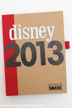 Disney World Smash Book