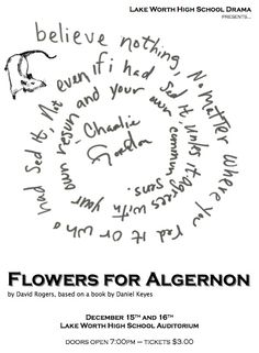16 Best Flowers For Algernon Images Book Quotes Flowers For