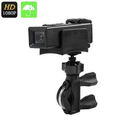 DV20 Action HD Camcorder - 1080p, 120 Degree Wide Angle Lens, Rechargeable Battery, Waterproof