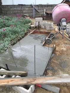pizza oven foundation