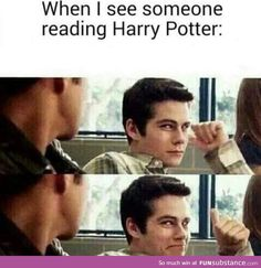 Good on you stranger. I do this when someone is reading lord of the rings or the hobbit... XD