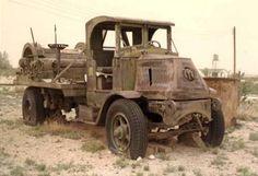 Mentone Texas Old Oilfield Truck