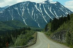 Yukon Territory, Al-Can Highway. Jim and I drove the Al-Can from Anchorage one summer. It was amazing. Alaska Highway, Alaska Trip, Alaska Travel, Alcan Highway, Yukon Territory, One Summer, Amazing Places, Stuff To Do, Places Ive Been