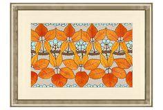 Abstract Botanical Print I on OneKingsLane.com