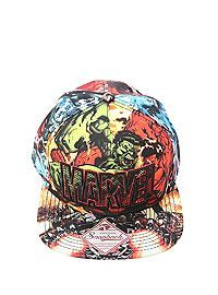 HOTTOPIC.COM - Marvel Logo Snapback Hat