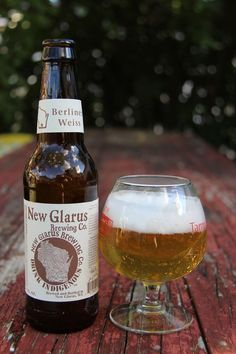 Down The Hatch: New Glarus Brewing's Thumprint Berliner Weiss: