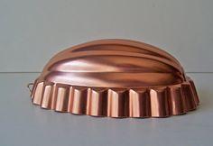 Vintage Melon Copper Tone Mold by cynthiasattic on Etsy, $12.00