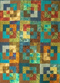 Bento Box Quilt by dragonflyquiltworks on Etsy, $1250.00
