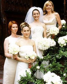 SATC. Which wedding is this? I think it is to Trey.