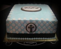 Baptism By ddaigle on CakeCentral.com