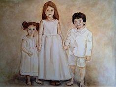 My Three Angels Portrait    Shannon Knopke Fine Art