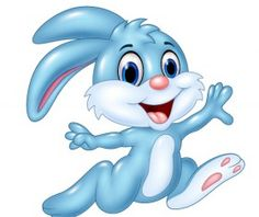 Cute cartoon rabbit vector design 02
