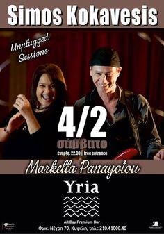 Simos Kokavesis, Markella Panayotou Αθήνα @ Yria