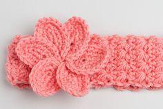 Crochet headband (with pattern)
