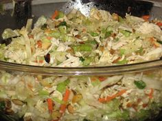 Tried and True Recipes: Raman Chicken Salad