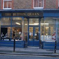 The Button Queen. They have floor to ceiling stacks of boxes full of buttons. London.