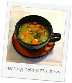 Feel a Cold or Flu Coming On? Eat This Homemade Immunity Boosting Soup