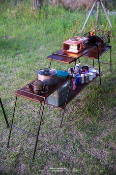 Camping Diy, Truck Bed Camping, Camping Table, Camping Items, Camping Stove, Camping Survival, Camping Gear, Outdoor Camping, Camping Furniture