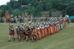The Ermine Street Guard's 40th Year of Roman Reenactment