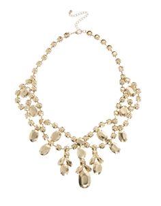 Shop ASOS Premium Jewelled Bib Necklace at ASOS. Asos Premium, Fashion Online, Pearl Necklace, Bridesmaid Dresses, Pearls, Bracelets, Accessories, Jewelry, Bride Maid Dresses