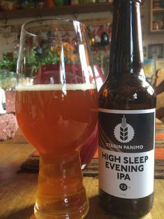 Stadin Panimo High Sleep Evening IPA